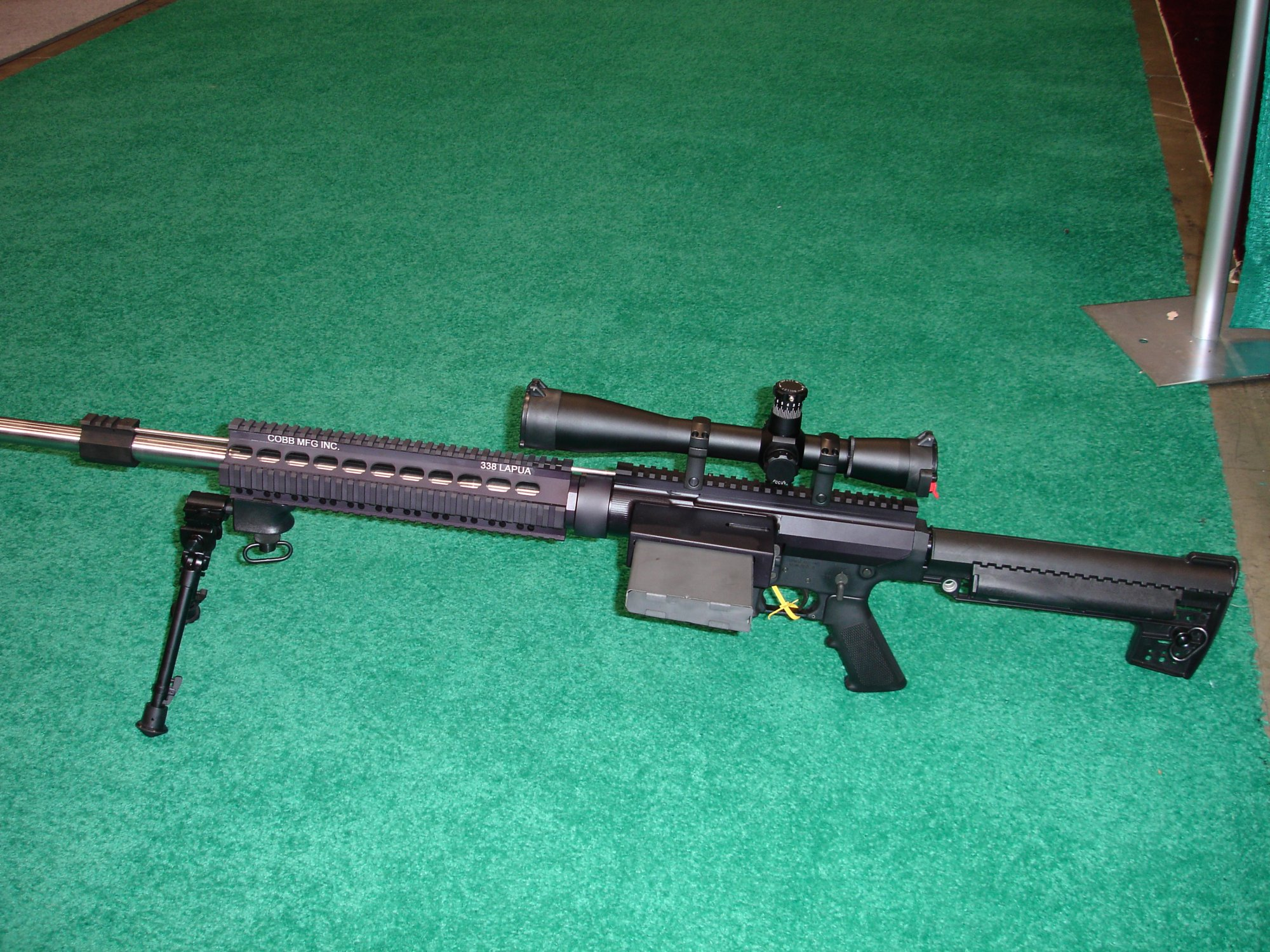 CobbMCR SCARprototype.338Lapua 2 <!  :en  >Cobb SCAR Candidate/MCR Prototype Weapons at SHOT Show 2005<!  :  >