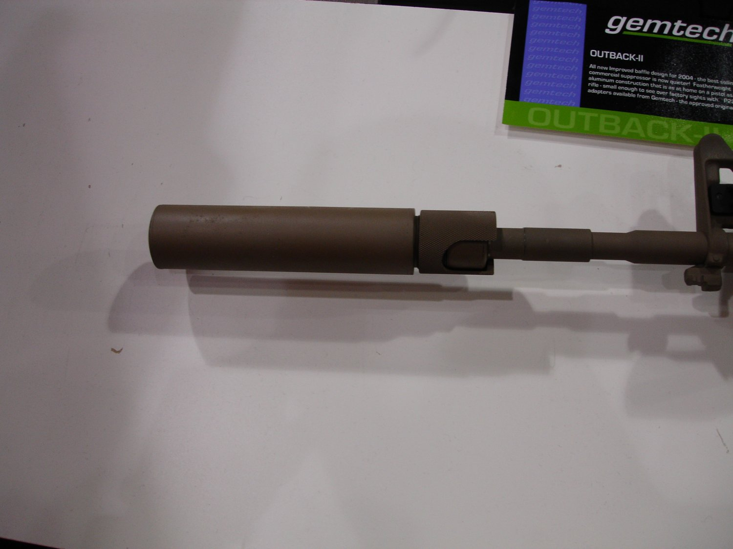Gemtech 2 <!  :en  >SHOT Show Pics: Gemtech Sound and Signature Suppressors for Tactical Small Arms<!  :  >