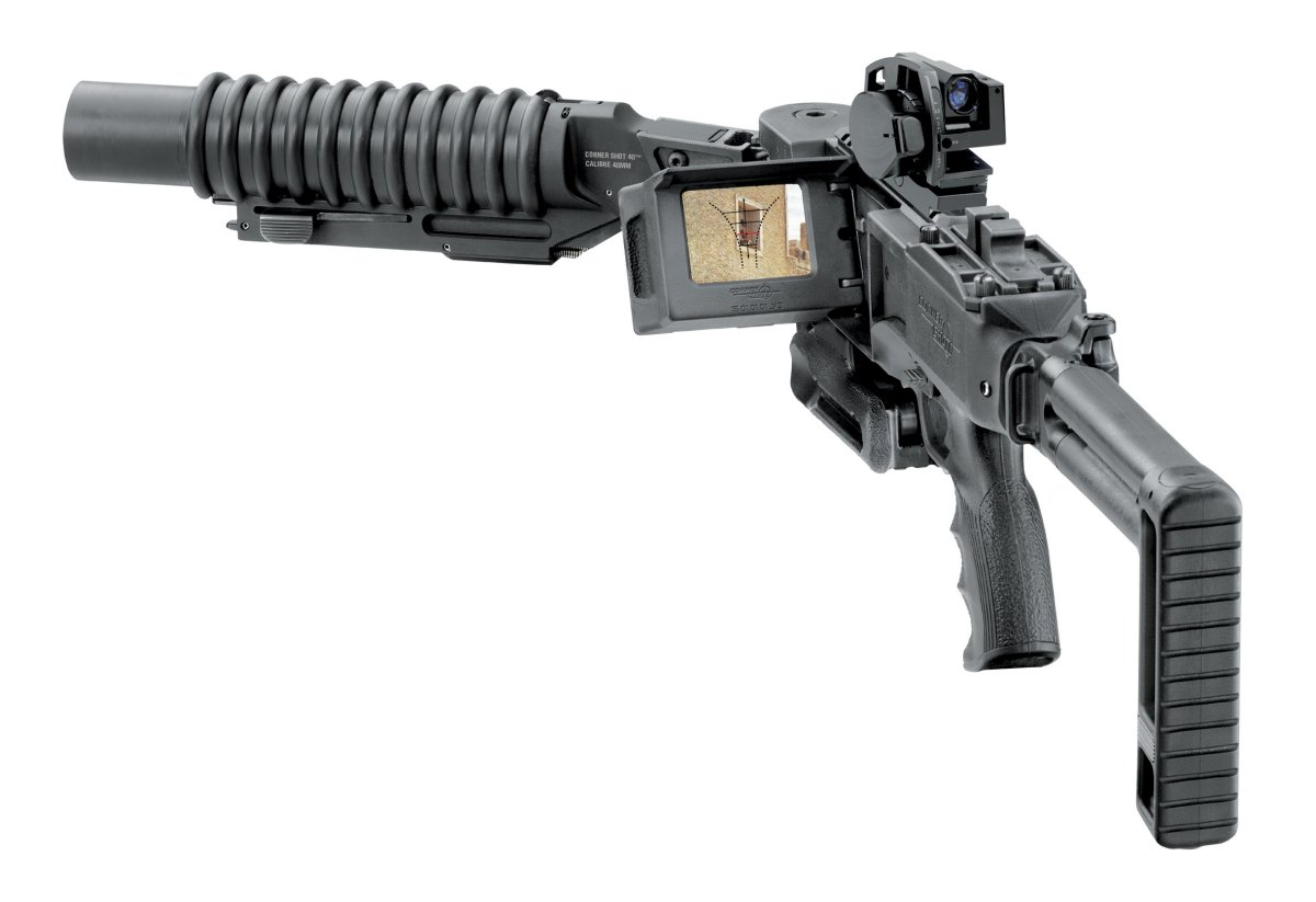cornershot40mmNO7 small <!  :en  >New Corner Shot 40™ 40mm Grenade Launcher: Around the Corner Force Multiplier<!  :  >