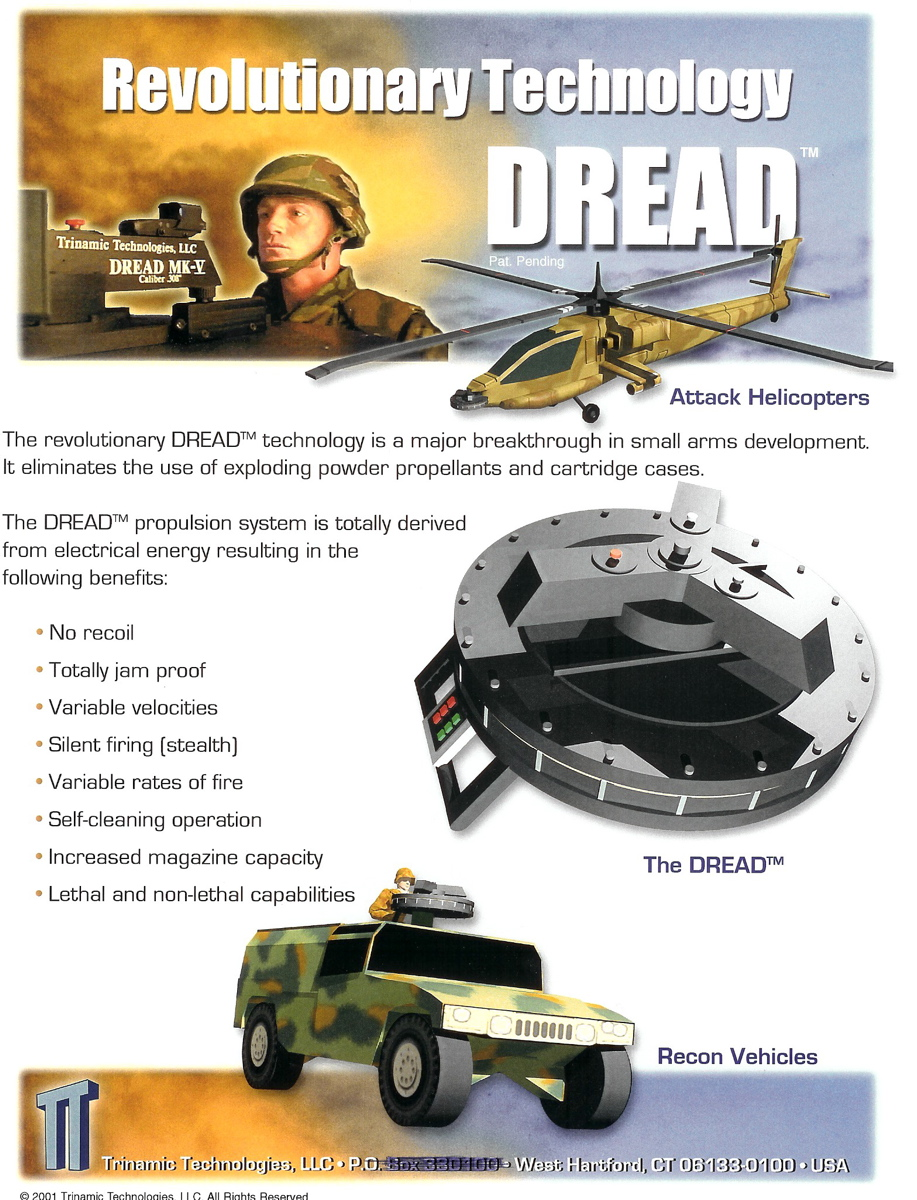 DREAD%20Brochure Page1 Trinamic%20Technologies,%20LLC <!  :en  >DefRev Update: Centrifuge Weapon System Tech for Future Warfare Applications<!  :  >