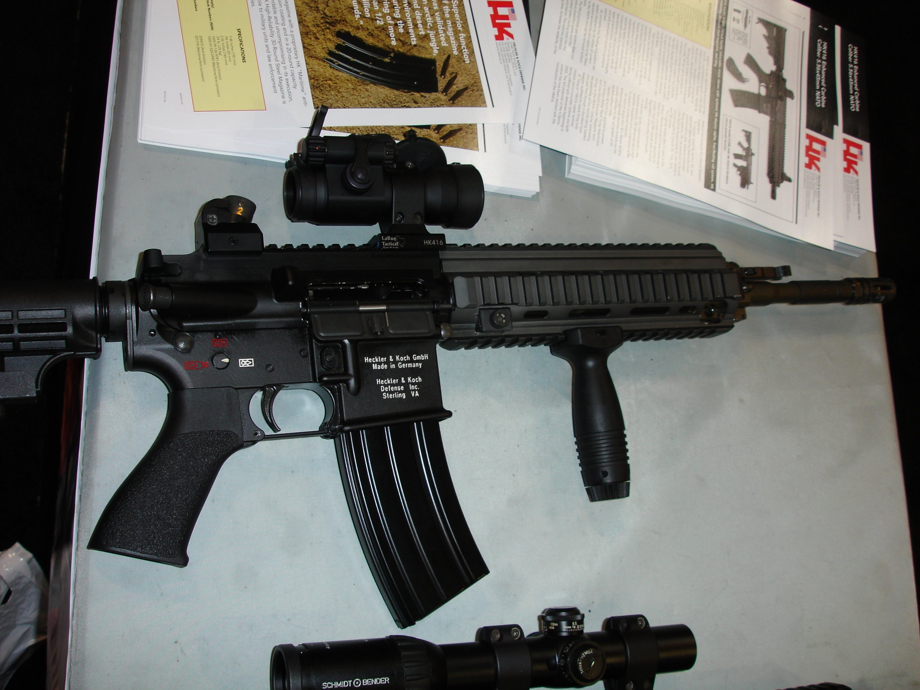 HK416 1 <!  :en  >HK416 Carbine/SBR Confiscation Program Unleashed on U.S. Army AWG<!  :  >