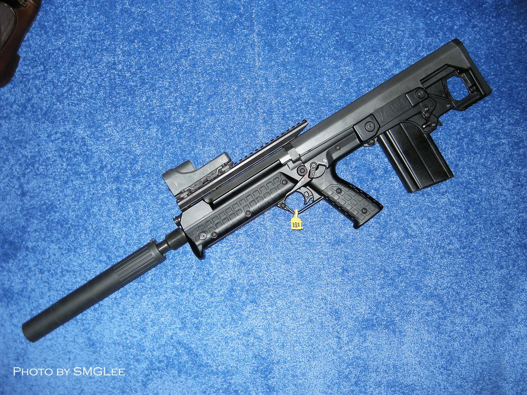 Kel TecRFBRifle SMGLee 1 Kel Tec RFB Rifle/Carbine (7.62mm NATO/.308 Win.) at SHOT Show 2008