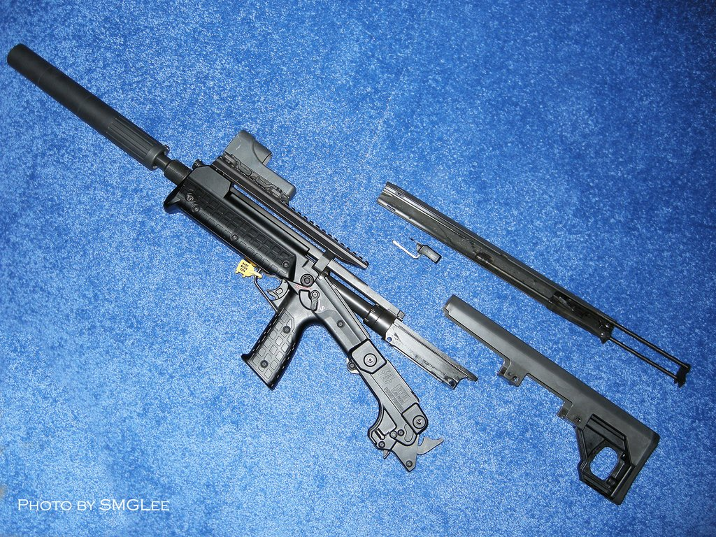 Kel TecRFBRifle SMGLee 7 Kel Tec RFB Rifle/Carbine (7.62mm NATO/.308 Win.) at SHOT Show 2008