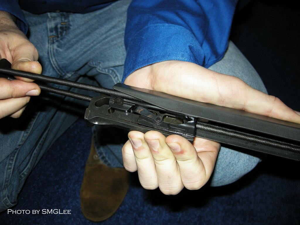 Kel TecRFBRifle SMGLee 8 Kel Tec RFB Rifle/Carbine (7.62mm NATO/.308 Win.) at SHOT Show 2008