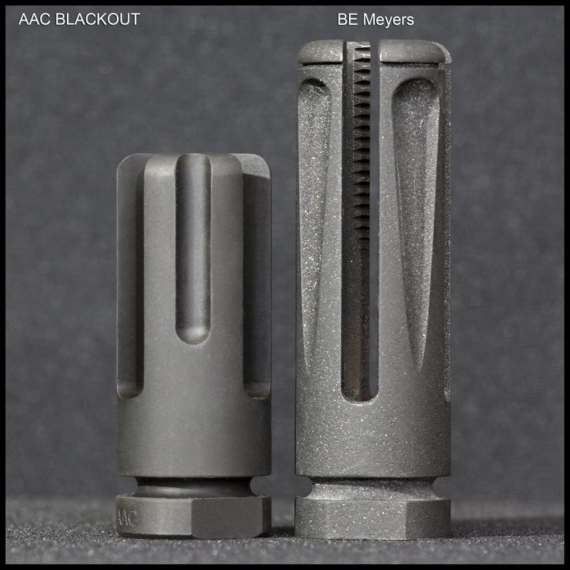 hidersut5 <!  :en  >AAC BLACKOUT Open Prong Flash Hider/Suppressor for Tactical Small Arms<!  :  >