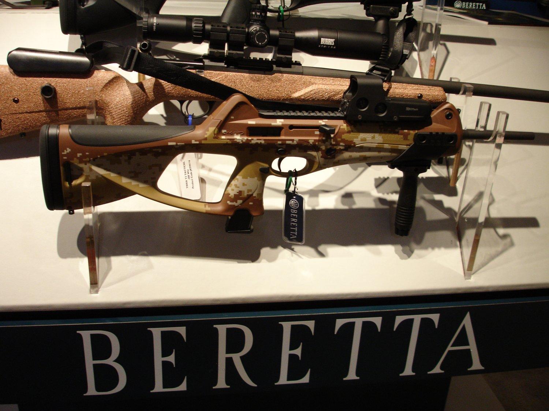 beretta cx4 storm semiautomatic carbine in digital desert camouflage