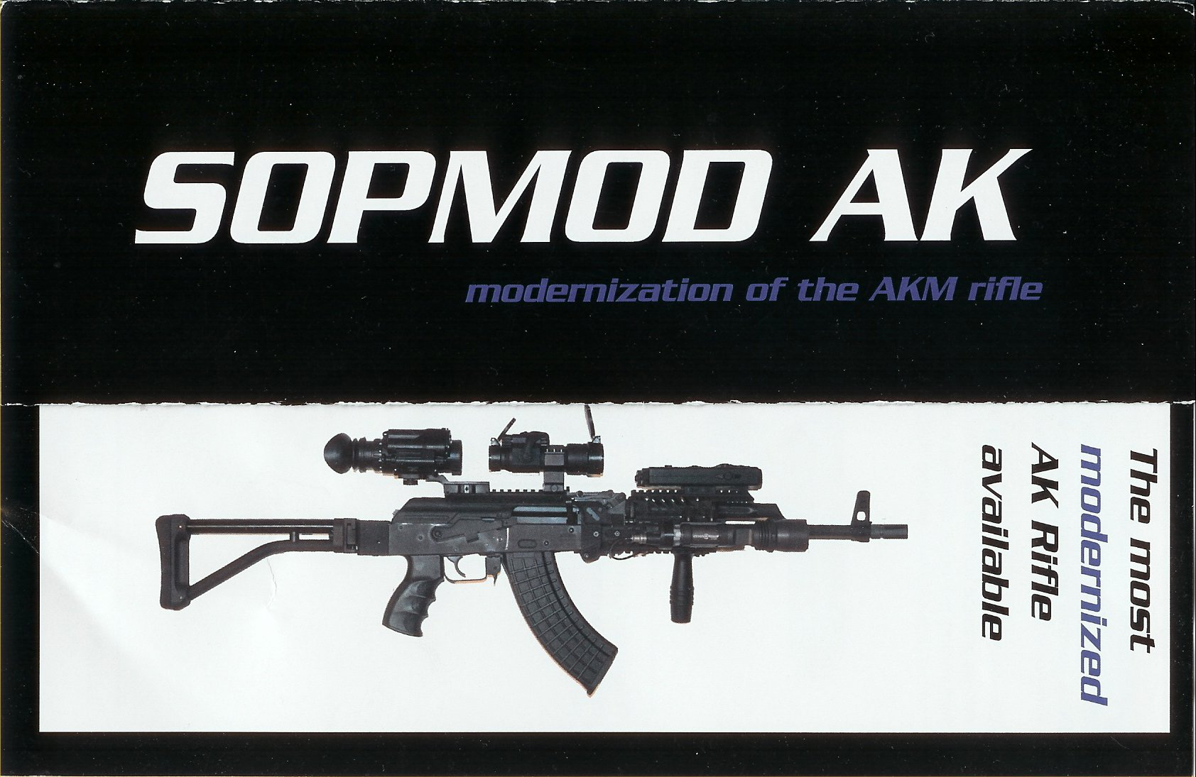 BHI%20SOPMOD%20AK 1 Horizontal <!  :en  >BHI SOPMOD AK: Modernized AKM/Kalashnikov for SPECOPS and PSD/Security Operators<!  :  >