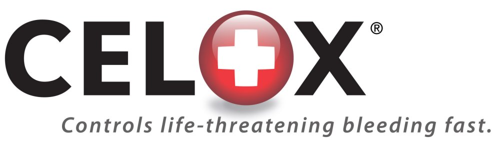 CELOX%20logo%203D%20June%202006 Resized <!  :en  >Revolutionary Tactical Medicine: CELOX Blood Clotting Agent Stops Major Wound Bleeding Fast.<!  :  >