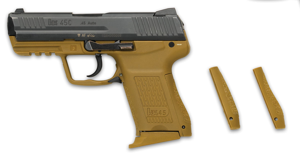 HK45 Compact <!  :en  >High Capacity Tactical Plastic .45 ACP Pistols: Choices, Choices...<!  :  >