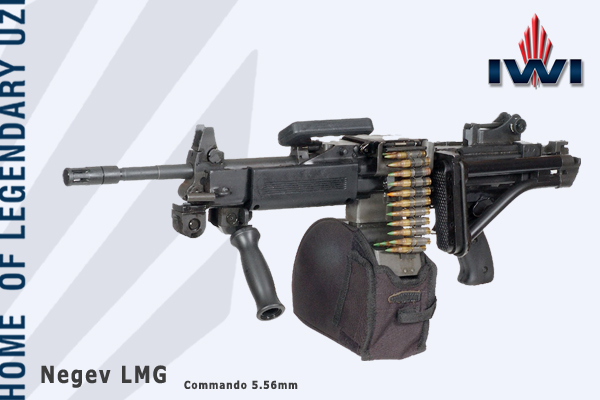 Negev 3 <!  :en  >IWI Negev Commando LMG/SAW and Micro Tavor MTAR 21 Bullpup Assault Rifle Demo<!  :  >