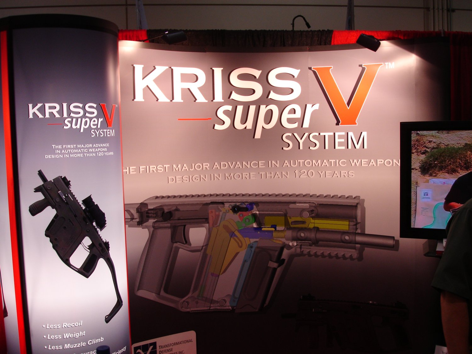 SHOT%20Show%202007%20 %20KRISS%20Super%20V%20System%20Submachine%20Gun%20%28.45%20ACP%29 7 <!  :en  >KRISS Super V XSMG System .45 ACP Submachine Gun: Photos of Latest Prototypes<!  :  >