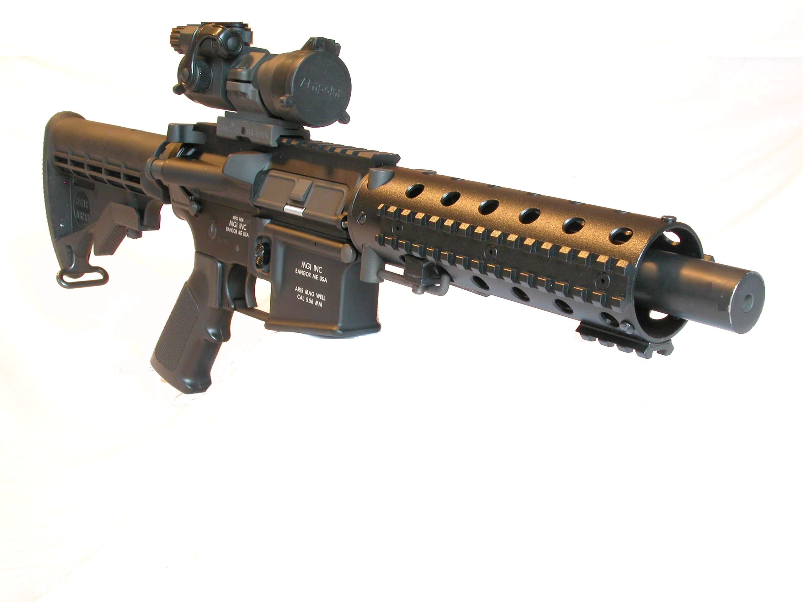 <!  :en  >MGI Hydra QCB Modular/Multi Caliber AR Weapons System for SPECOPS<!  :  >