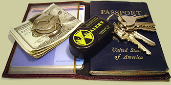 NukAlert 4 <!  :en  >NukAlert Pocket Size Nuclear Radiation Detector/Key Chain Works 24/7<!  :  >