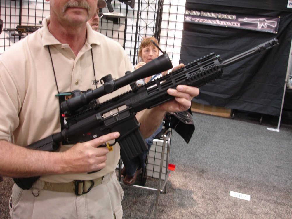 POF P 308 SHOT%20Show%202008 2 03 08 1 <!  :en  >POF P 308 Gas Piston/Op Rod Battle Rifle/Carbine at SHOT Show 2008<!  :  >
