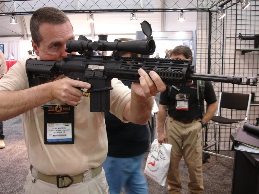 POF P 308 SHOT%20Show%202008 2 03 08 2 <!  :en  >POF P 308 Gas Piston/Op Rod Battle Rifle/Carbine at SHOT Show 2008<!  :  >