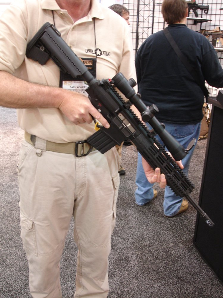 POF P 308 SHOT%20Show%202008 2 03 08 3 <!  :en  >POF P 308 Gas Piston/Op Rod Battle Rifle/Carbine at SHOT Show 2008<!  :  >