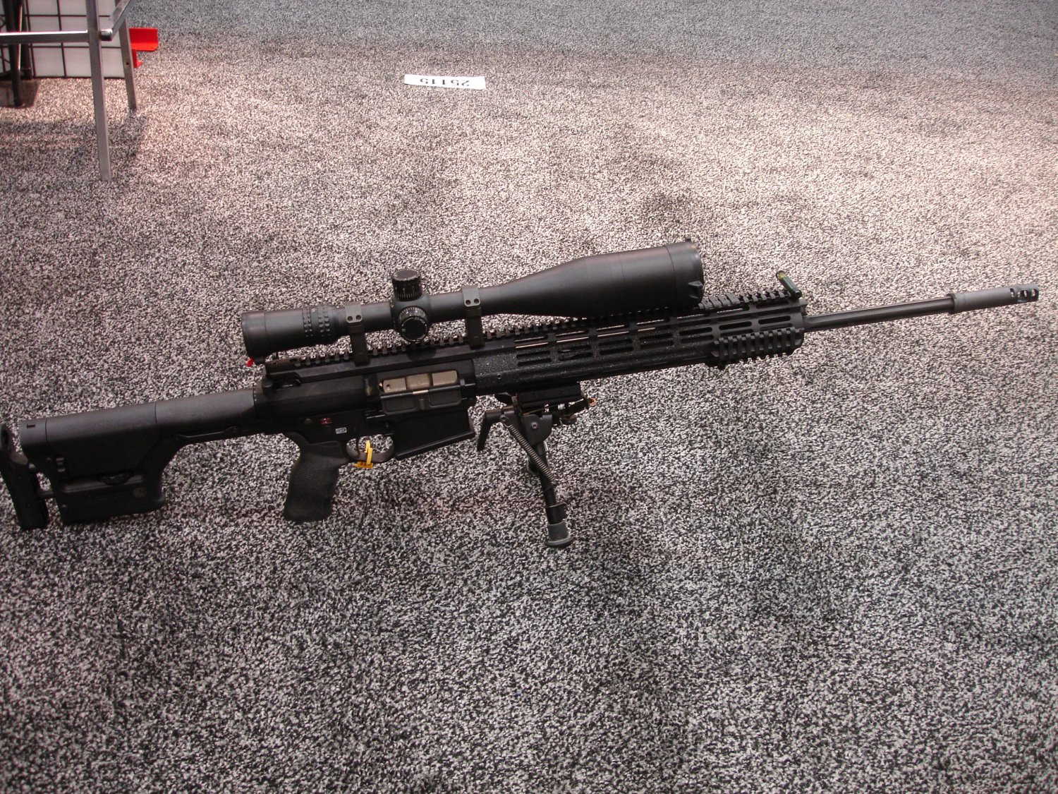 POF P 308 SHOT%20Show%202008 2 03 08 5 <!  :en  >POF P 308 Gas Piston/Op Rod Battle Rifle/Carbine at SHOT Show 2008<!  :  >