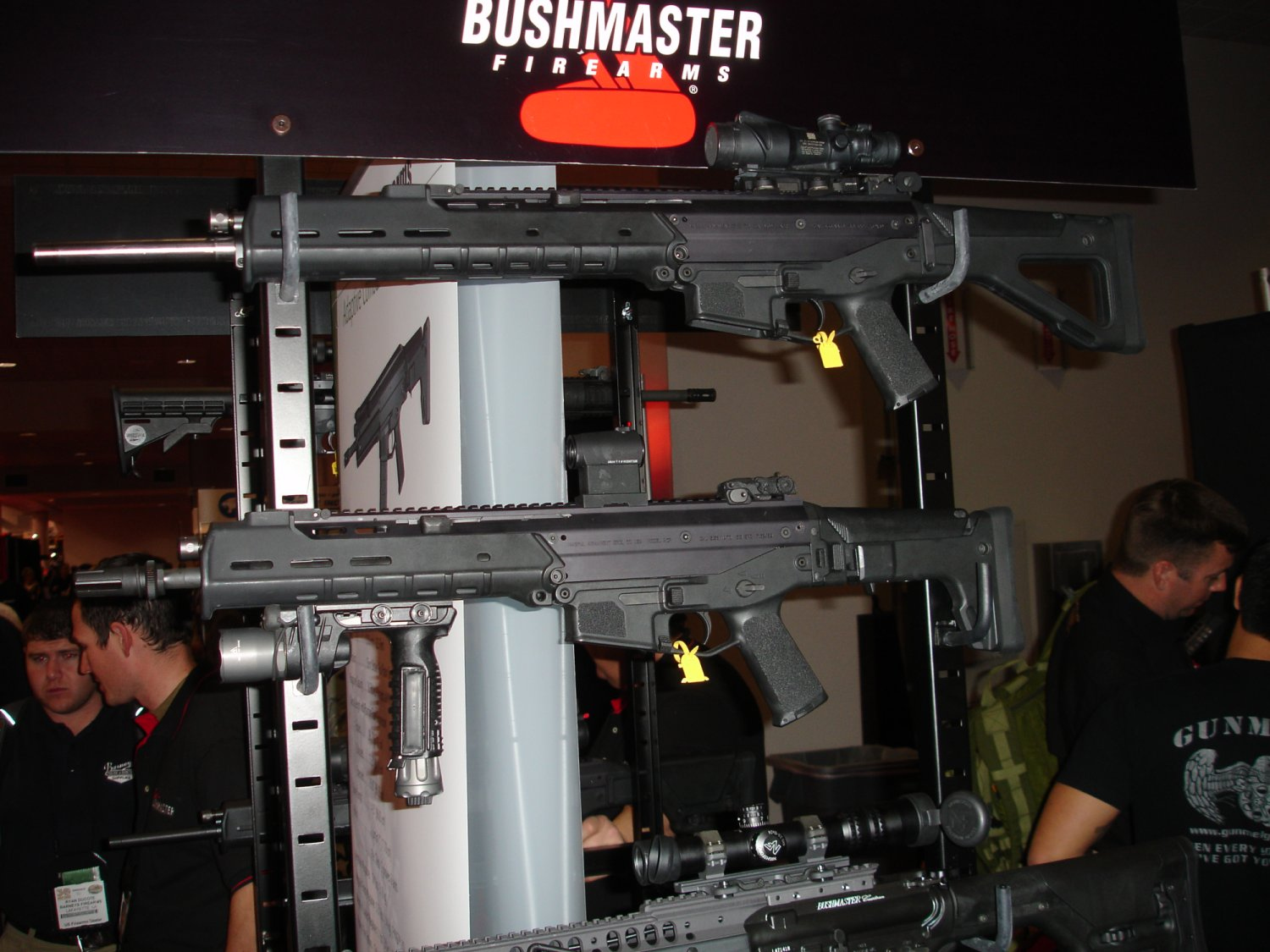 BushmasterFirearms AdaptiveCombatRifle%28ACR%29 2 SHOTShow2008 2 02 08 <!  :en  >MagPul Masada Rifle/Carbine Becomes the Bushmaster Adaptive Combat Rifle (ACR)<!  :  >