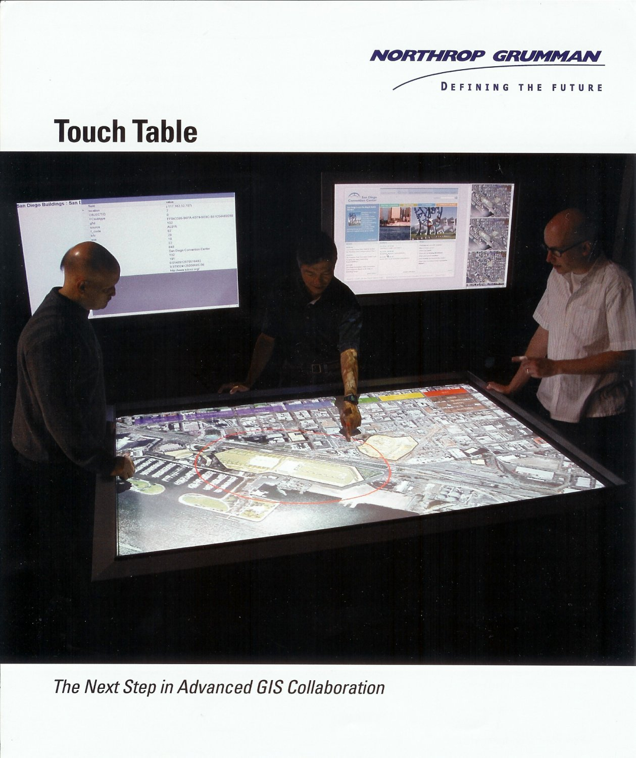 Northrop%20Grumman%20Touch%20Table 1 <!  :en  >Northrop Grumman TouchTable + Zebra Imaging 3D Digital Holographic (Digital Hologram) Technology + Interactive Wall Tech = Better Warfare Ops<!  :  >