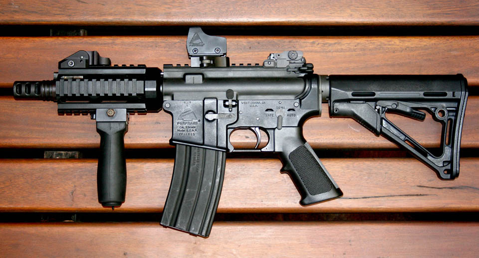 6s <!  :en  >FERFRANS Ultra Concealable Piston Driven 6 inch AR Subcarbine/SBR (Video!)<!  :  >