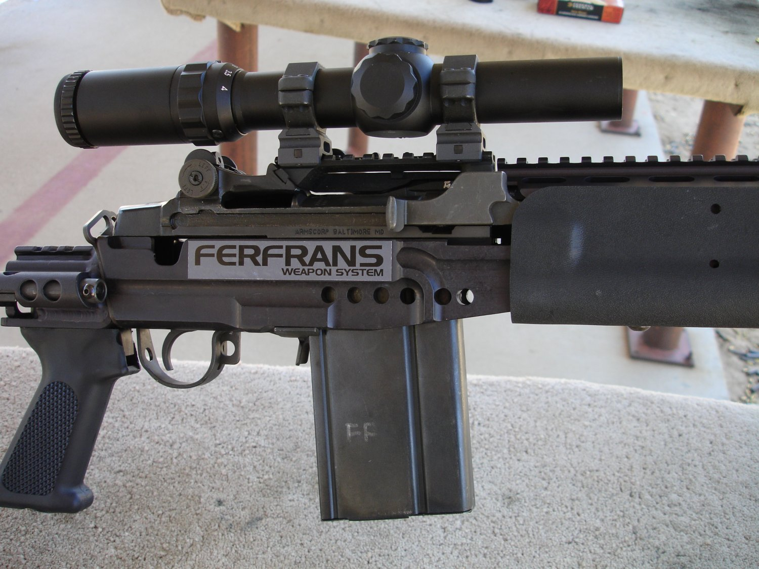 FERFRANS SOPMOD M14 M1A EBR 18 <!  :en  >FERFRANS SOAR Select Fire SBRs and Carbines, and GRSC Combat Rifle Scope (CRS) at the Range<!  :  >