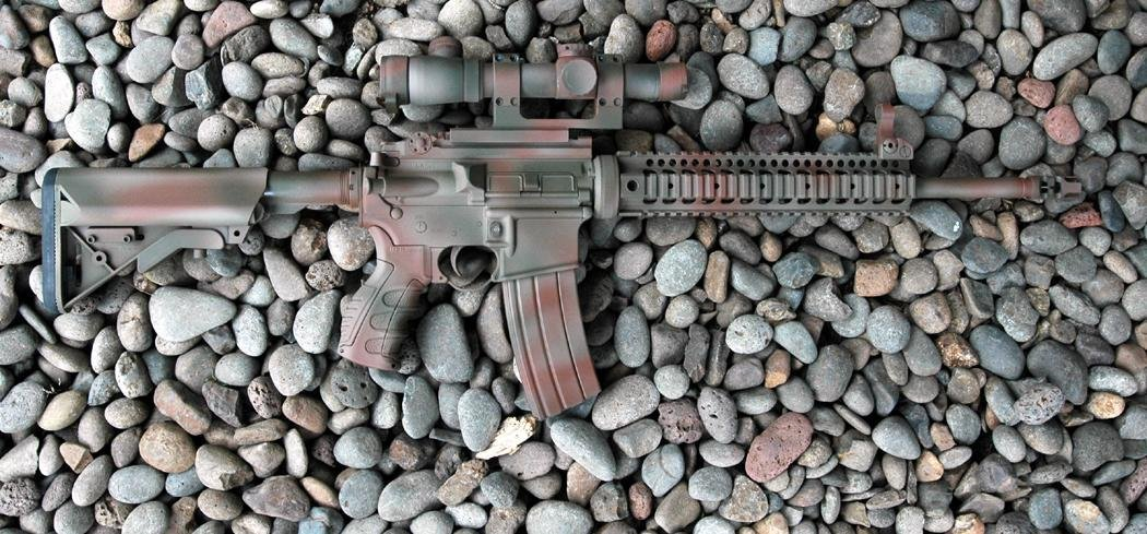 LaRueTacticalStealthUpper16 Coated SPR RightSide MikePannone <!  :en  >LaRue Tactical Stealth 16 Inch Upper Config AR Carbine: Range Report<!  :  >