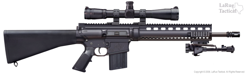 Larue Tactical Stealth Optimized Sniper Rifle %28OSR%29762mm 1 <!  :en  >LaRue Tactical Stealth OSR (Optimized Sniper Rifle) 7.62mm Sniper Carbine/Rifle<!  :  >