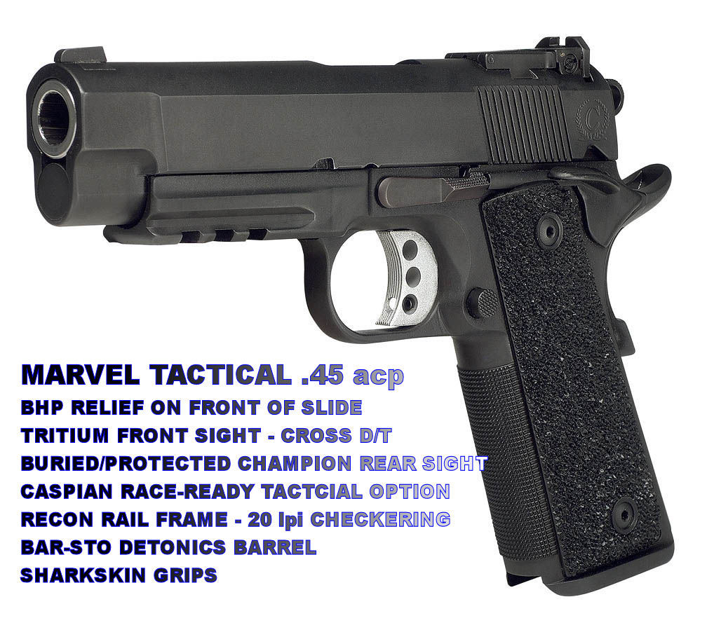 Marvel black rail front <!  :en  >Sandbox Field Report Part 1: Marvel Custom Tactical 1911 Pistol (Single Stack) Perform Downrange<!  :  >