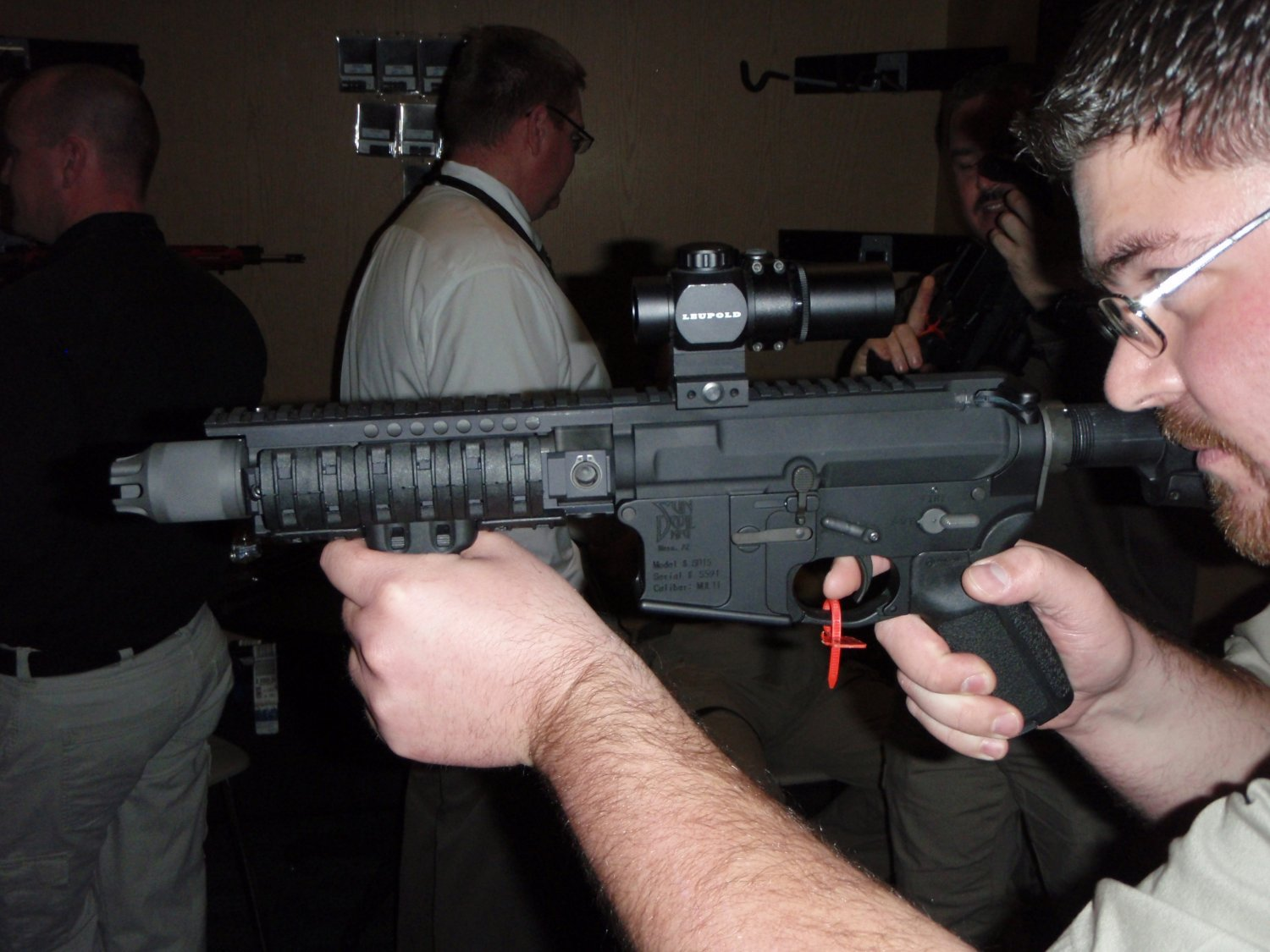 PWS Diablo Gas Piston SBR SHOT Show 2009 12 <!  :en  >PWS Diablo Long Stroke Gas Piston/Op Rod Driven 5.56mm AR 15 SBR Upper Receiver<!  :  >