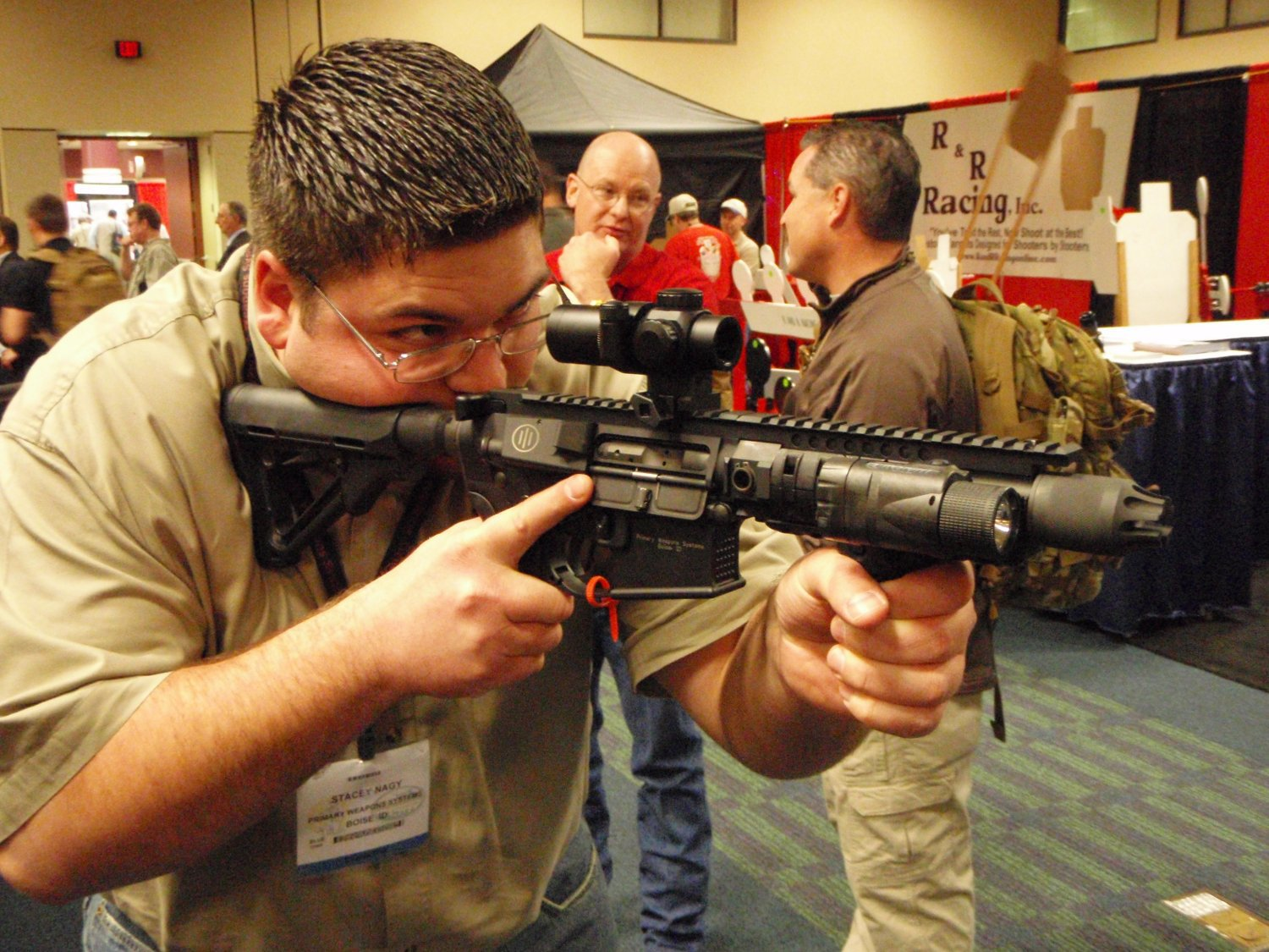 PWS Diablo Gas Piston SBR SHOT Show 2009 8 <!  :en  >PWS Diablo Long Stroke Gas Piston/Op Rod Driven 5.56mm AR 15 SBR Upper Receiver<!  :  >