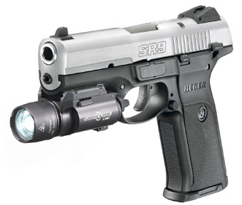 Ruger SR9 Pistol 2 <!  :en  >New Ruger SR9 Pistol: Striker Fired Tactical Plastic for Combat Applications<!  :  >