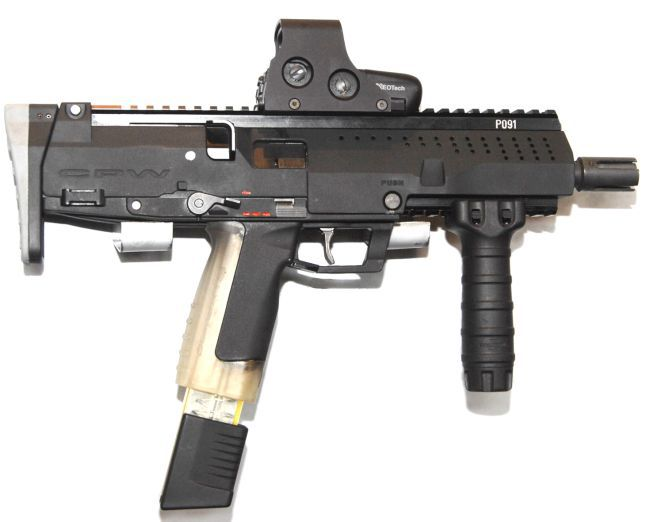 ST Kinetics CPW Submachine Gun %28SMG%29 1 <!  :en  >ST Kinetics CPW (Compact Personal Weapon) Submachine Gun/PDW<!  :  >