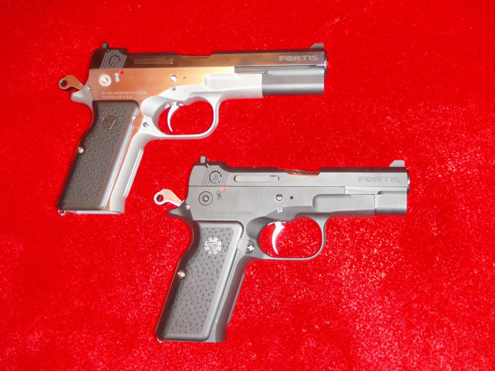 Vltor Fortis Pistols SHOT Show 2009 3 <!  :en  >Vltor Fortis Semi Auto Pistol: Improved Bren Ten in 10mm and .45ACP<!  :  >