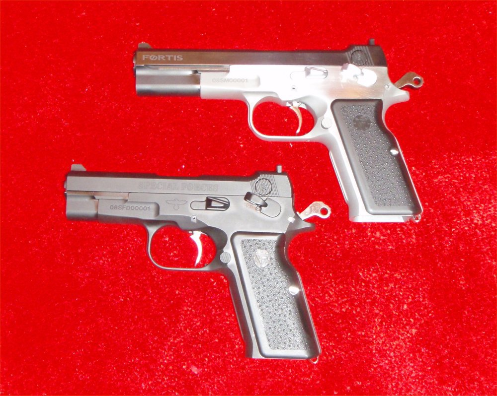 Vltor Fortis Pistols SHOT Show 2009 4 <!  :en  >Vltor Fortis Semi Auto Pistol: Improved Bren Ten in 10mm and .45ACP<!  :  >