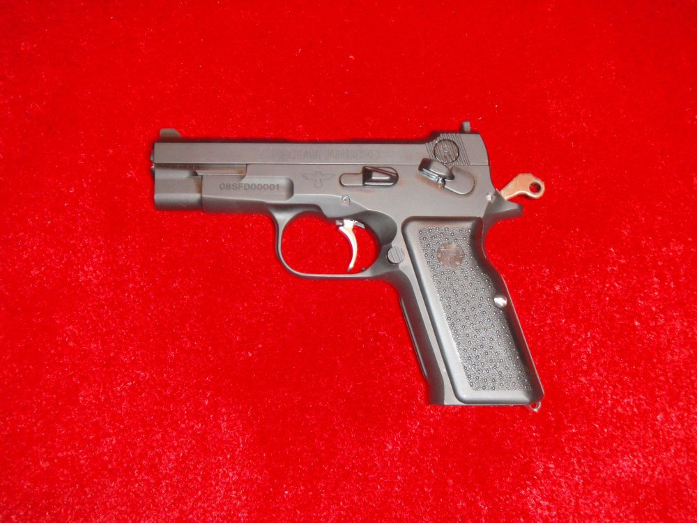 Vltor Fortis Pistols SHOT Show 2009 5 <!  :en  >Vltor Fortis Semi Auto Pistol: Improved Bren Ten in 10mm and .45ACP<!  :  >