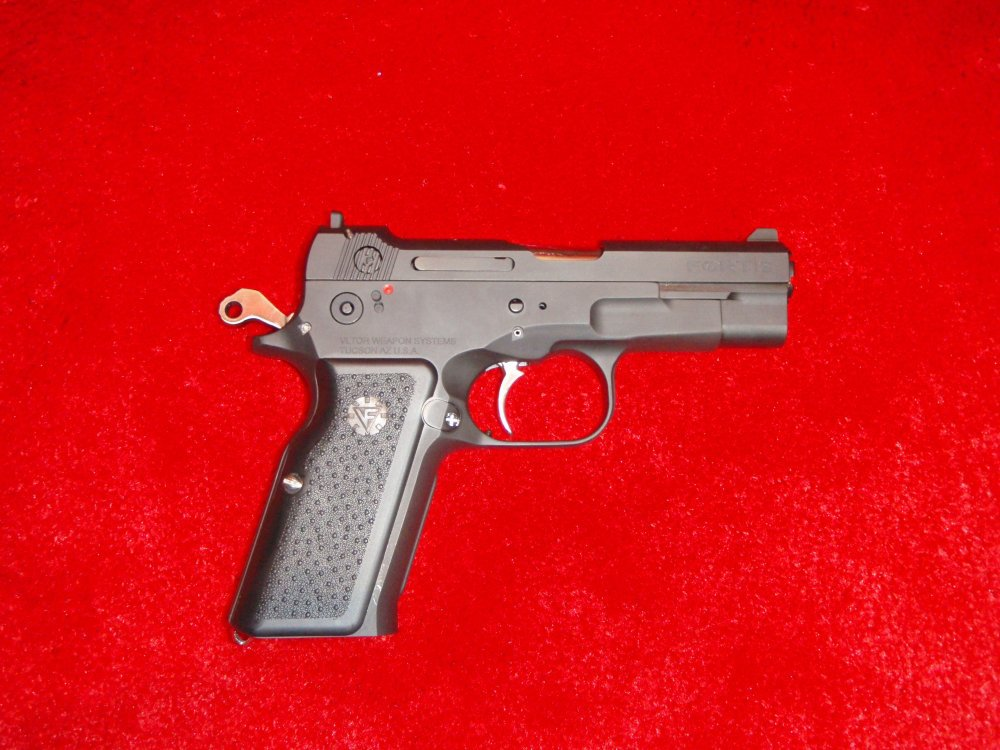 Vltor Fortis Pistols SHOT Show 2009 6 <!  :en  >Vltor Fortis Semi Auto Pistol: Improved Bren Ten in 10mm and .45ACP<!  :  >