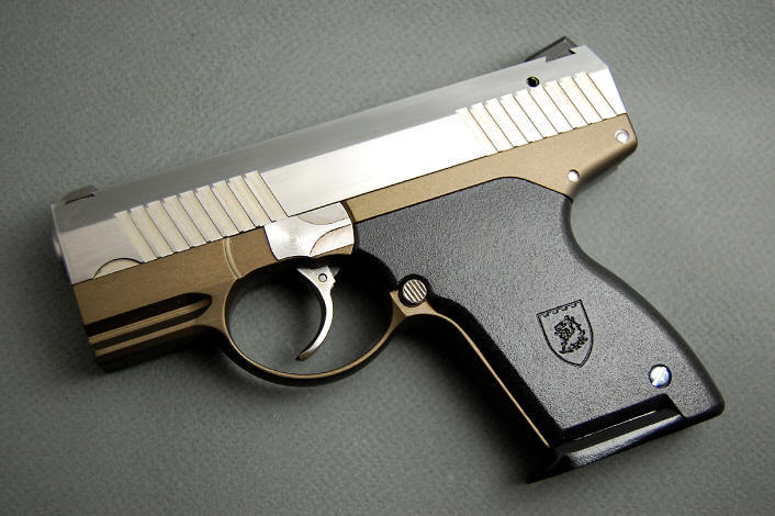 pictures of 9mm guns. The Boberg XR9 semi-auto subcompact 9mm pistol, billed by the company as