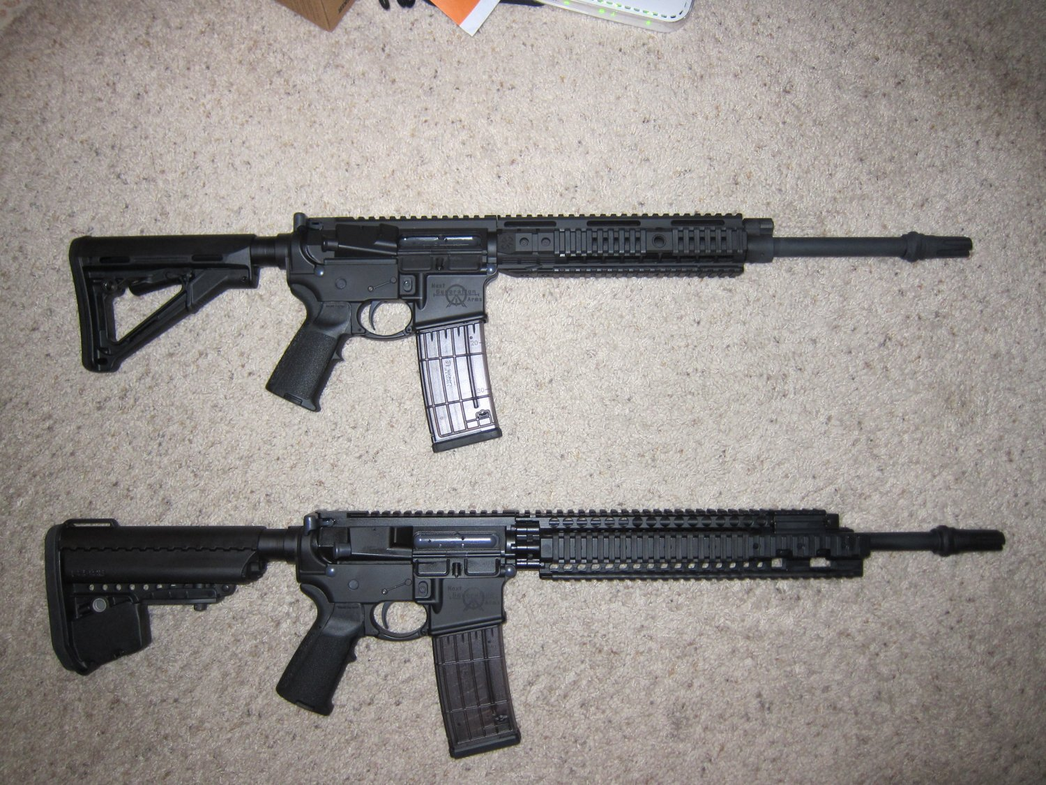 <!--:en-->A Tale of Two Custom Mid-Length AR Carbines: The Frankengun (Frankencarbine) Project<!--:-->