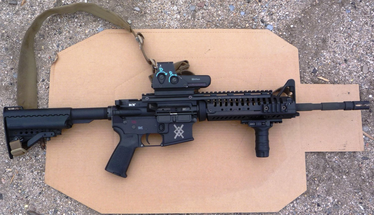 Mike Pannone BCM M4 Upper Receiver 1 The Big M4 Myth: Fouling caused by the direct impingement gas system makes the M4/M4A1 Carbine unreliable.