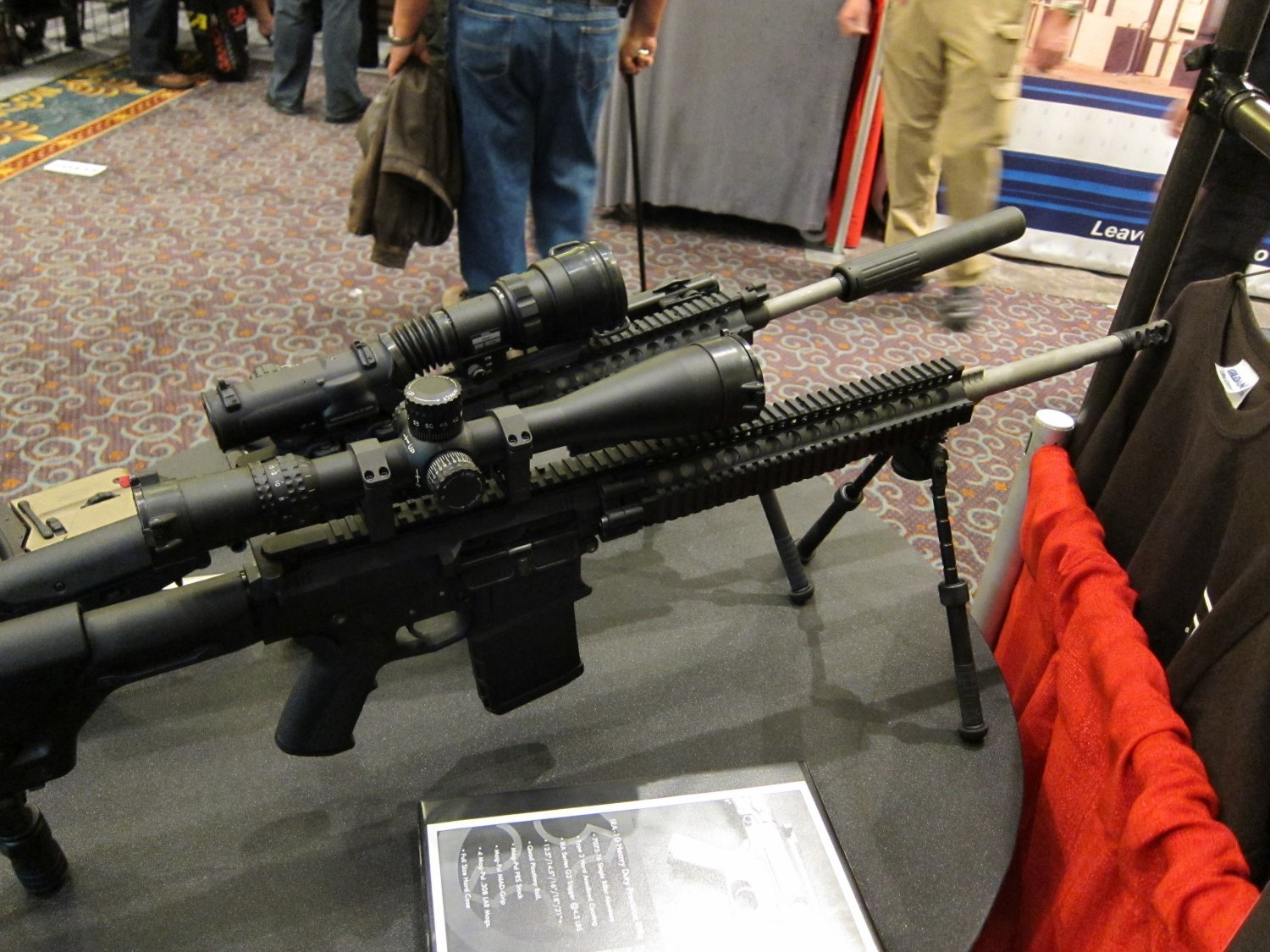 SHOT Show 2010 Iron Ridge Arms IRA 7.62mm AR Rifle Carbine 3 <!  :en  >Iron Ridge Arms IRA X (formerly IRA 10) Complete Sniper Rifle/Battle Rifle: This time, Thors hammer takes the form a 7.62mm/.308 tactical AR sniper rifle/carbine.<!  :  >