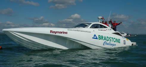 Bradstone Challenger 2 <!  :en  >Future Iranian (Bladerunner 51/Bradstone Challenger Copy) Speedboat Swarms vs. U.S. Navy Aircraft Carriers: Van Riper Redux?<!  :  >