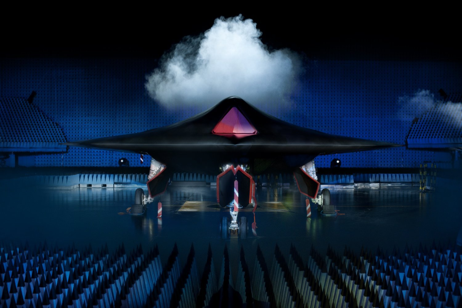 BAE Taranis Jet UCAV Low Observable 1 <!  :en  >BAE Taranis UCAV (Unmanned Combat Air Vehicle): Meet the New Jet Powered, Weaponized, Low Observable, and Autonomous God of Thunder<!  :  >