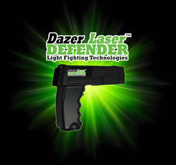 Laser Energetics Defender 1 <!  :en  >Dazer Laser: Safer than a Taser? Me Oh My, It Looks Like a Phaser.  Bad guys better watch out...while they still can! (Video!)<!  :  >
