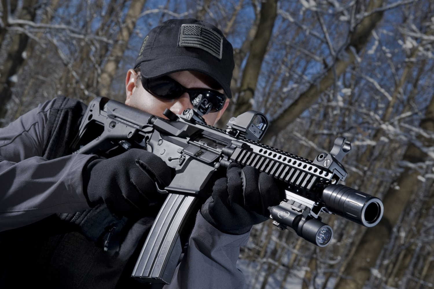 Spikes Tactical Biohazard EDW 7.5 inch 6.8 SPC Tactical AR SBR 3 small <!  :en  >Spikes Tactical Biohazard EDW (Enhanced Defensive Weapon) 6.8 SPC (6.8x43mm SPC) Tactical 7.5 AR SBR (Short Barreled Rifle) with Billet Receivers and S.T.A.B. Muzzle Device<!  :  >