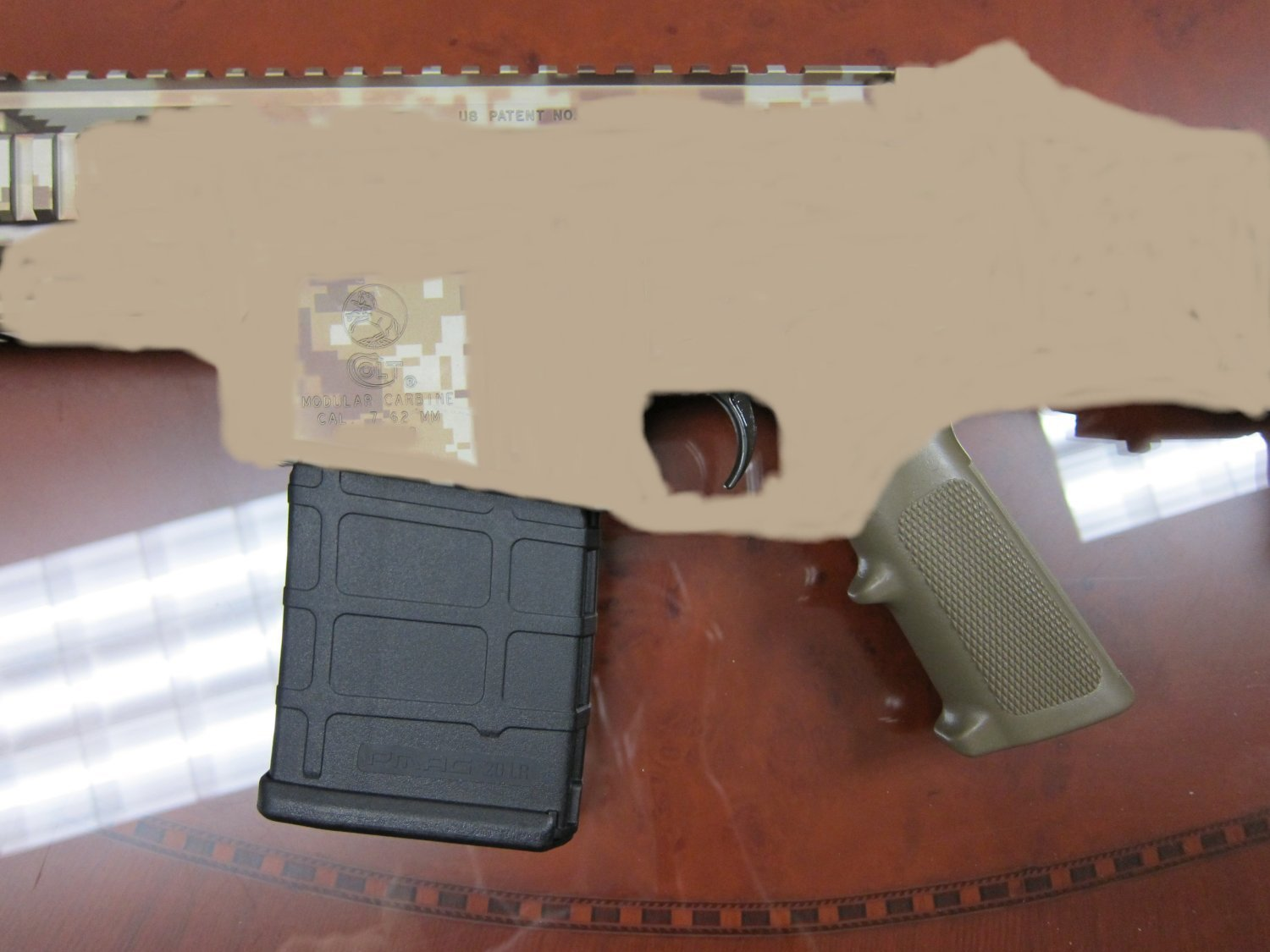 Colt CM901 Receivers and MagPul 7.62mm PMAG Sterilized 1 <!  :en  >DR Exclusive: Colt CM901 7.62x51mm NATO (7.62mm NATO)/.308 Win. Modular Battle Carbine/Rifle Magazine Revealed in Pictures (Photos!): Is it the MagPul PMAG 20LR 7.62mm Magazine?  Read and See! <!  :  >