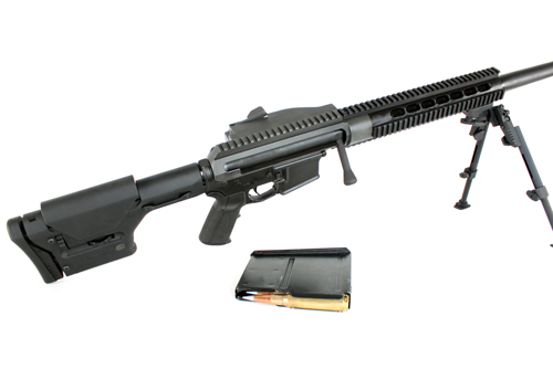 Zel Custom Tacticalite T2 .50 BMG AR Rifle Upper Receiver Assembly 1 <!  :en  >Zel Custom Tactilite T2 .50 BMG AR Rifle Upper Receiver Conversion Kit: Turn Your Tactical AR Rifle/Carbine into a Magazine Fed, Bolt Action .50 BMG AR Rec Rifle <!  :  >