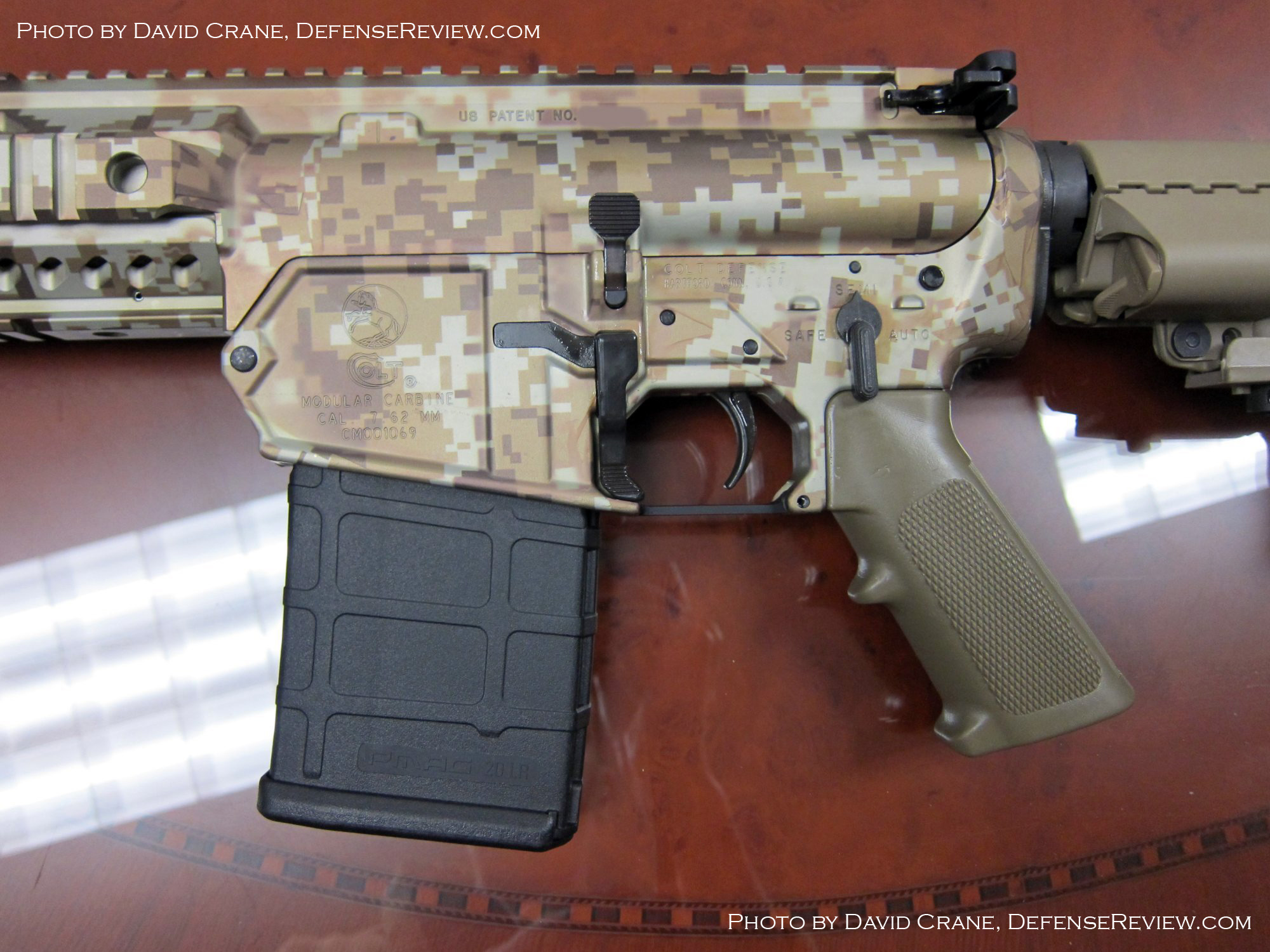 Colt CM901 AR Carbine SBR 7.62mm David Crane DefenseReview.com 24 <!  :en  >DR Exclusive First Look!: SCAR Who? Meet the Colt Modular Carbine (CMC) Model CM901 Multi Caliber 7.62mm NATO Battle Rifle / 5.56mm NATO Assault Rifle for U.S. Military Special Operations Forces (SOF) and General Infantry Forces (GIF). DefenseReview (DR) Reports (Photos and Video!) <!  :  >
