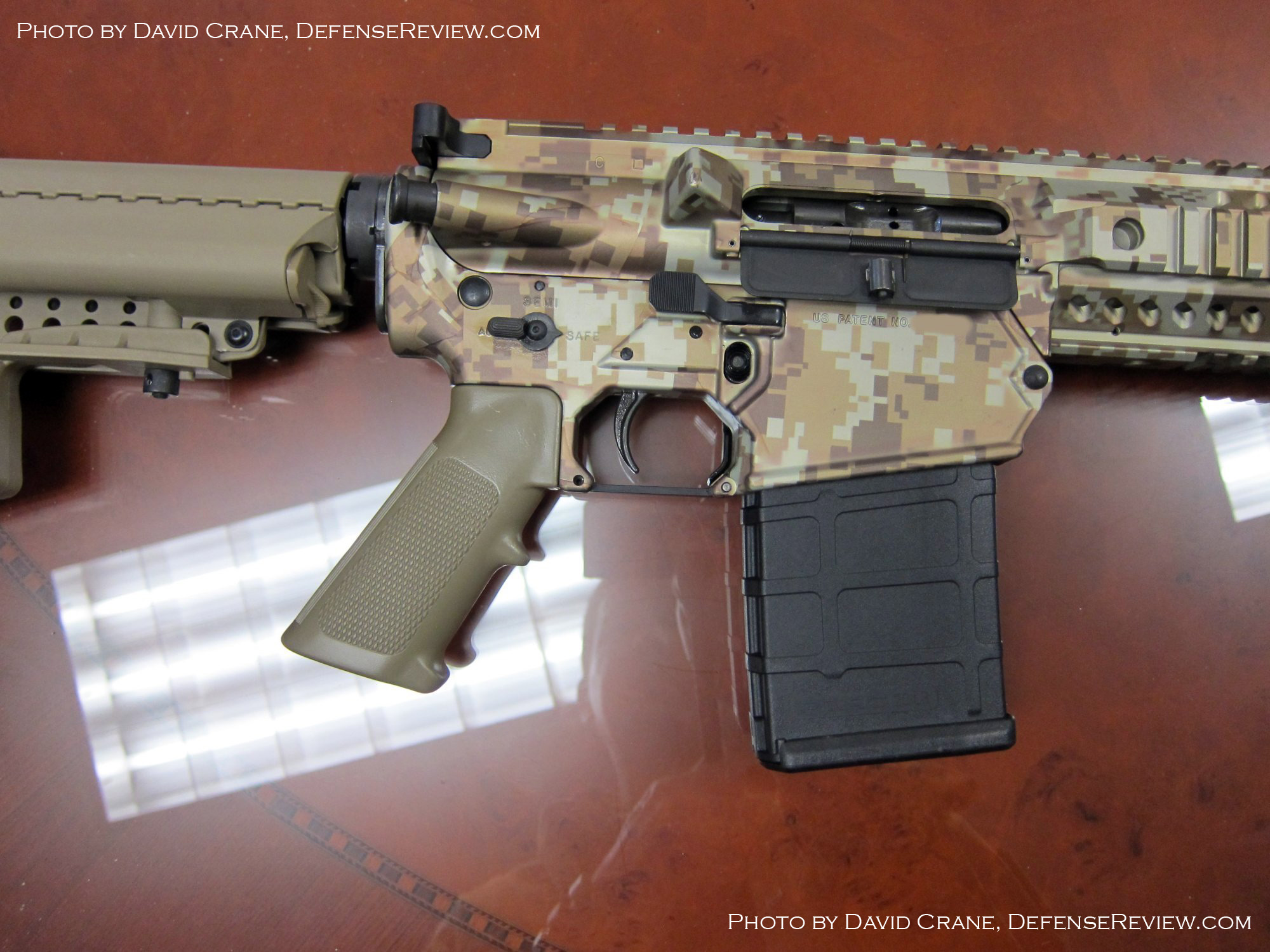 Colt CM901 AR Carbine SBR 7.62mm David Crane DefenseReview.com 26 <!  :en  >DR Exclusive First Look!: SCAR Who? Meet the Colt Modular Carbine (CMC) Model CM901 Multi Caliber 7.62mm NATO Battle Rifle / 5.56mm NATO Assault Rifle for U.S. Military Special Operations Forces (SOF) and General Infantry Forces (GIF). DefenseReview (DR) Reports (Photos and Video!) <!  :  >