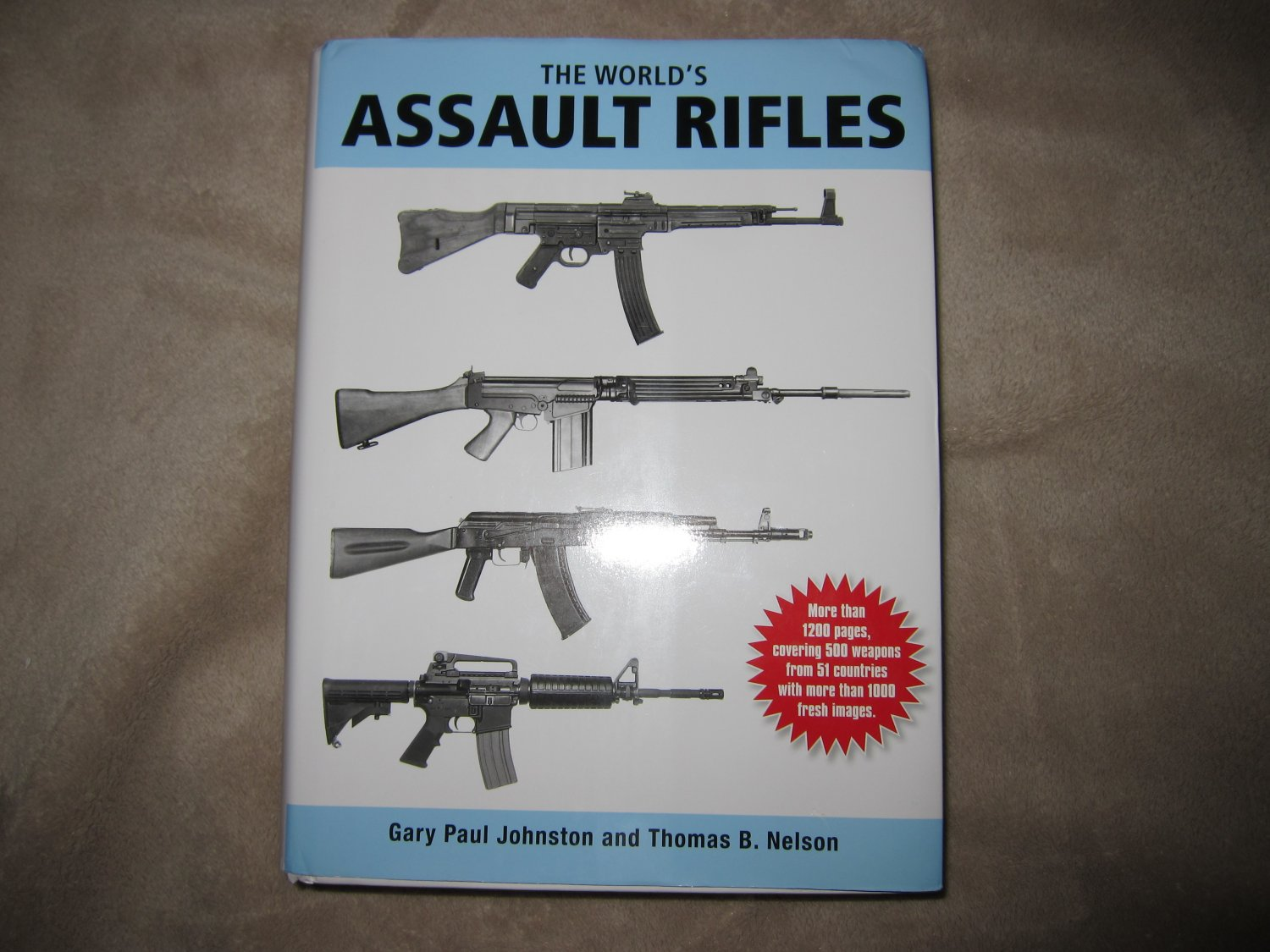 Assault Rifles of the World Book Gary Paul Johnston 1 <!  :en  >The Worlds Assault Rifles: Best and Most Complete Book on Military Infantry Assault Rifles (and Battle Rifles) Ever Written?  DefenseReview (DR) Highly Recommends It!<!  :  >