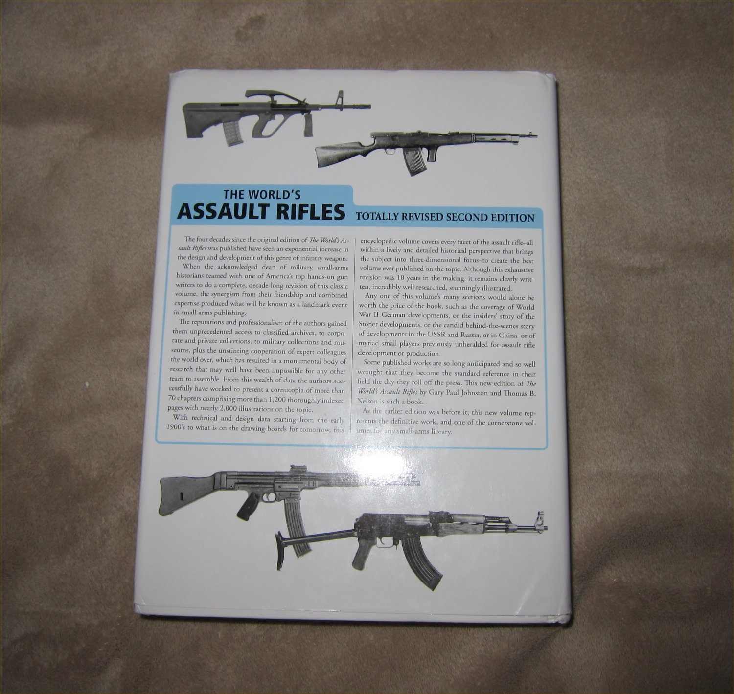 Assault Rifles of the World Book Gary Paul Johnston 10 <!  :en  >The Worlds Assault Rifles: Best and Most Complete Book on Military Infantry Assault Rifles (and Battle Rifles) Ever Written?  DefenseReview (DR) Highly Recommends It!<!  :  >